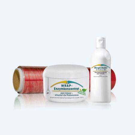 Fettanteil reduzieren leicht gemacht: mit dem Body Wrapping Set HOT!