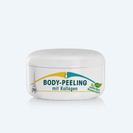 Weichere, straffere und glattere Haut mit dem Körper-Peeling mit Kollagen von Shape-Line.