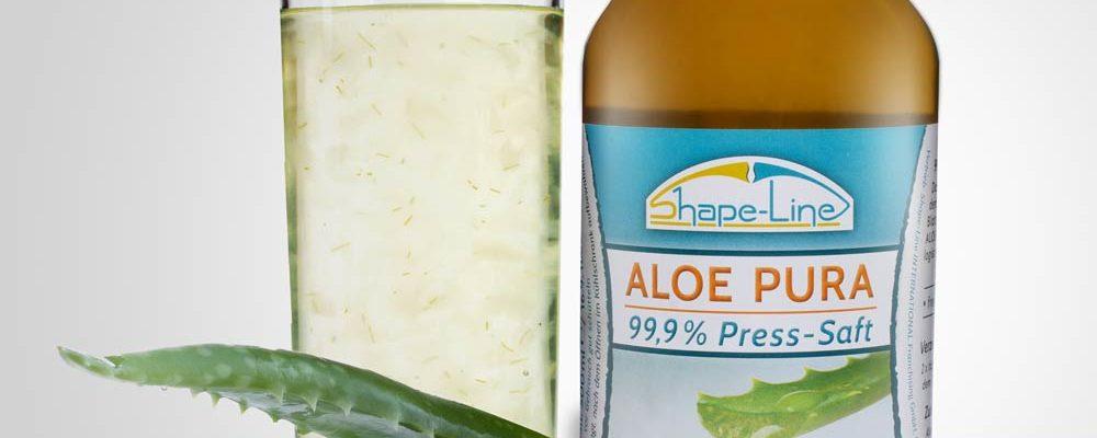 Aloe PURA Saft crasht Cellulite & Fett