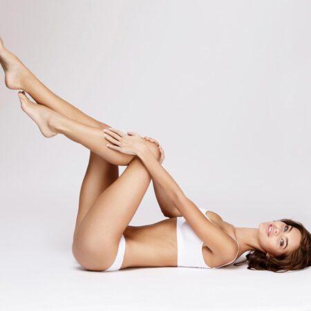 gegen Krampfadern und schwere Beine - Abhilfe schafft das Birken-Lymph-Gel von Shape-Line.