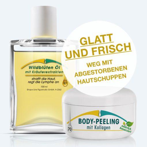 Frischzell-Peeling: Adé abgestorbene Hautschüppchen, hallo neue, glatte und schöne Haut!